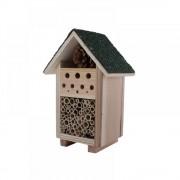 Casuta lemn - hotel pentru insecte