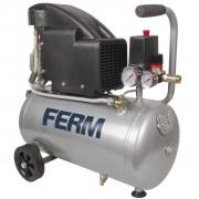 FERM Kompresor 1,5 HP, 1100 W, 24 l
