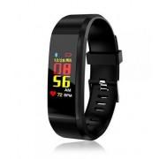 Bratara Fitness FitTronic BR115 Plus, Bluetooth (Negru)