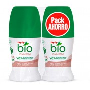 BIO NATURAL 0% INVISIBLE DEO ROLL-ON pachet 2 buc.