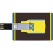 Printland Credit Card Shaped PC82734 8 GB Pen Drive(Multicolor)