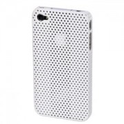 Калъф за мобилен телефон 'Air' for Apple iPhone 4,бял - HAMA-107139