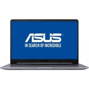 "Ultrabook™ ASUS VivoBook S15 S510UN (Procesor Intel® Core™ i7-8550U (8M Cache, up to 4.00 GHz), 15.6"" FHD, 8GB, 1TB HDD @5400RPM, nVidia GeForce MX150 @2GB, Endless OS, Gri)"