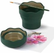 Cutie apa Click & Go verde Faber-Castell