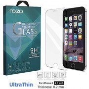 iPhone 6s / 6 Screen Protector Glass TOZO 0.2mm Ultrathin [3D Touch Compatible] Premium Tempered Glass with 9H Hardness 2.5D Edge Super Clear Screen [Lifetime Warranty] 0.2mm ...