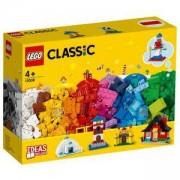 Конструктор Лeго Класик - Тухлички и къщи, LEGO Classic 11008