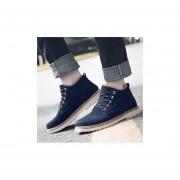 Hombre Botas De Martin Fashion-cool-Azul