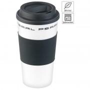 Pearl Coffee-to-go-Becher mit Deckel, 475 ml, doppelwandig, BPA-frei