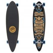 """Longboard Mindless Longboards Tribal Rogue III black/blue 38""""/96cm"""