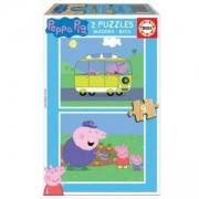 Бебешки пъзел 2 х 2 части Educa, 17156 Baby Peppa Pig, 8412668171565