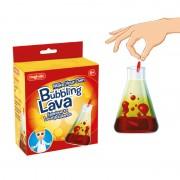 Kit experimente Lava cu bule Keycraft, 6 x 13 x 17 cm, 6 ani+