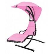Balansoar Hecht Dream Pink cu umbrela si cadru din otel
