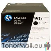 Комплект тонер касети HP CE390XD (Black)