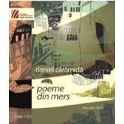 Poeme din mers - Daniel Caramida Format Mic -Tip breloc
