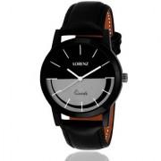Lorenz 1053A Slim Design Black-Grey Dial Analog Watch For Men (Bestseller)