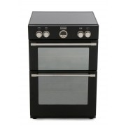 Stoves Sterling 600MFTi Black Induction Electric Cooker with Double Oven