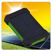 EH 10000 Recorrido Al Aire Libre Tres Anti -A Verde Tesoro De Carga Solar-Verde