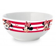 Bol din ceramica 400ml Minnie Mouse rosu
