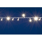 LED-es sorolható izzósor, 10 m, IP44