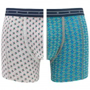 Boxershorts 2-pack Graphic & Heartbeat