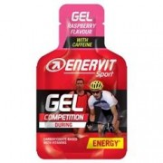 Enervit Sport Gel 25ml Raspberry With Caffeine