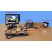 Achteruitrijcamera set monitor V7 camera CM052 kabel 15 meter SPY Tech