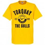 Retake Torquay Established T-Shirt - Geel - L