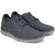 Clarks Tunsil Plain Navy Casual For Men(Navy)