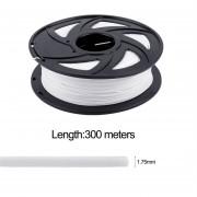 Negro / Blanco / Natural Color PLA Filamento De Impresión 1.75mm Para La Pluma De La Impresora 3d-blanco