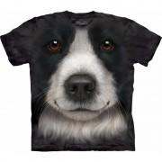 The Mountain Honden T-shirt Border Collie voor volwassenen