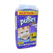 Scutece Pufies new maxi pack 4+ 52/set