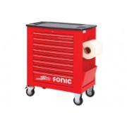 SONIC Equipment SONIC gereedschapswagen S10 rood