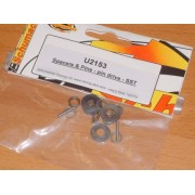 Schumacher U2153 Spacers and pins (1.5mm) pack