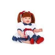 Boneca Dolls With Love Ruiva Vestido De Lese Azul 2064 - Cotiplás