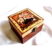 Cutie lemn decorata - 26376