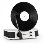 Auna VERTICALO S, gramofon retro, placă verticală, usb, alb (TTS9-Verticalo S wh)
