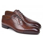 Paul Parkman Classic Brogue Shoes Brown ZLS11BRW