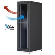 """Armadio Server Rack 19"""" 600x1000 42U Nero Porta Grigliata"""
