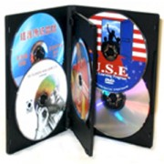 DVD-BOX 22 mm Петорна черна за DVD