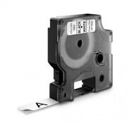 Dymo DY16959 poliészter szalag, 12mm, fekete/fehér