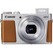Canon Digitalkamera Canon G9 X Mark II 20.9 MPix Silver Full HD Video, GPS, Bluetooth