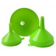 Tölcsér műanyag 3 db-os zöld (72085)