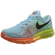Nike Men's Flyknit Air Max Blue Running Shoes -7 UK/India (41 EU)(8 US)