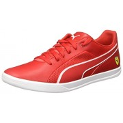 Puma Men's Sf Selezione Rosso Corse and White Sneakers - 9 UK/India (43 EU)