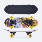 Mini skateboard Spokey Blox 43 x12,5 cm