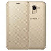 Capa Flip para Samsung Galaxy J6 EF-WJ600CFEGWW - Dourado
