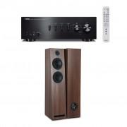 Pachet Amplificator Integrat Yamaha A-S501 + Boxe Acoustic Energy 103 desigilat