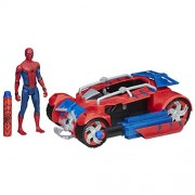 Spider Man Homecoming Spider Man with Spider Racer, REd
