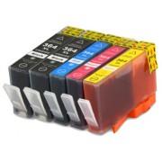 (5-pack) HP364XL multipack - kompatibilné náplne do tlačiarne HP