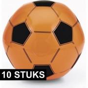 Geen 10x Oranje supporters voetbal opblaasbaar